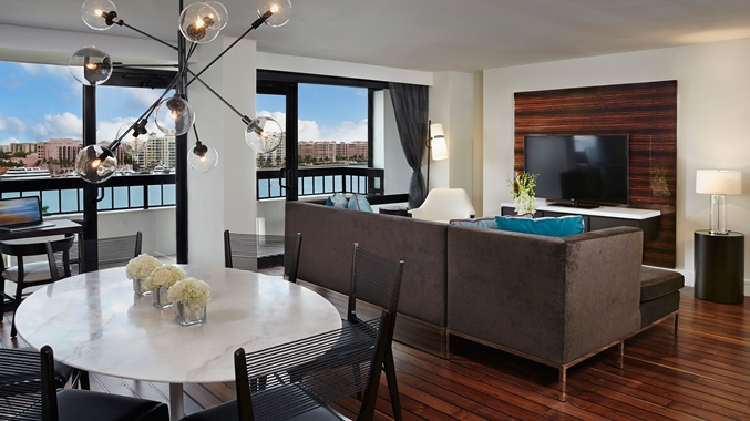 Waterstone Resort & Marina - Presidential Suite Living Area