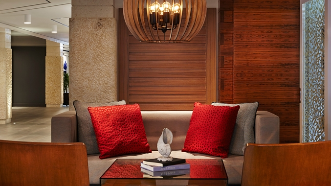 Waterstone Resort & Marina-Seating Area Lobby