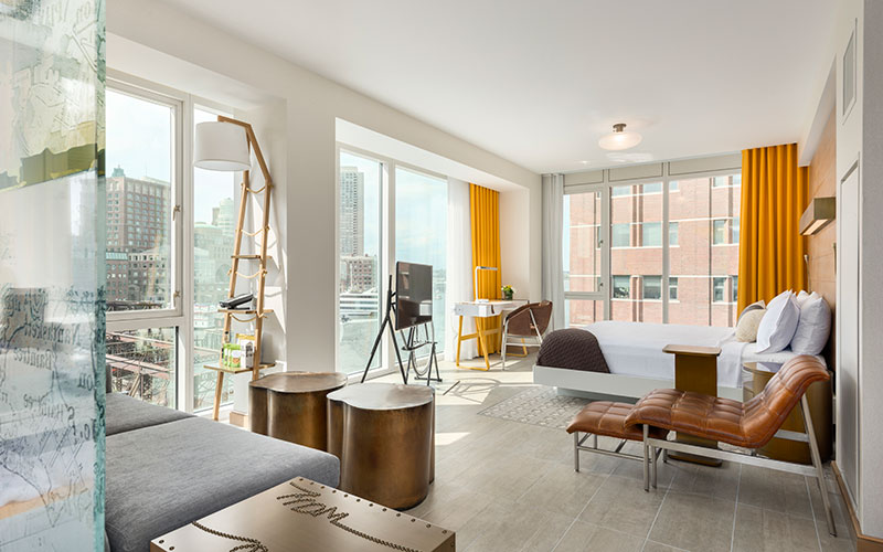 Envoy Hotel Featured in Boston Magazine - Royal Contract Lighting