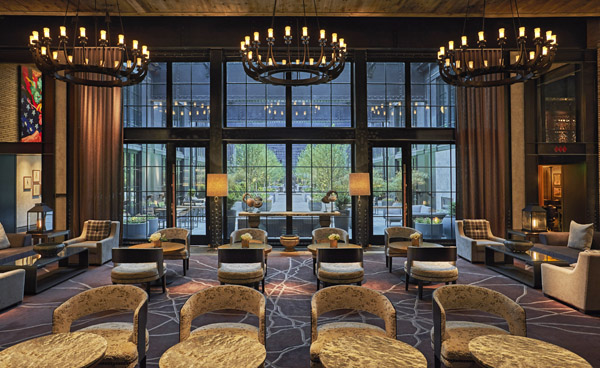 Royal Contract Lighting Illuminates Sagamore Pendry